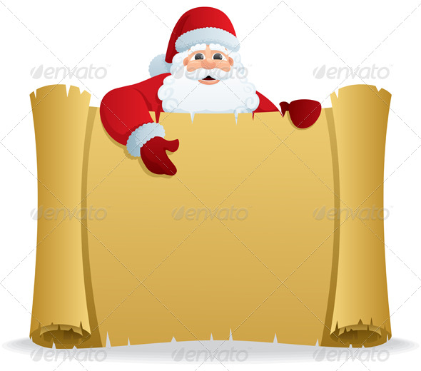 GraphicRiver Santa Scroll 146776