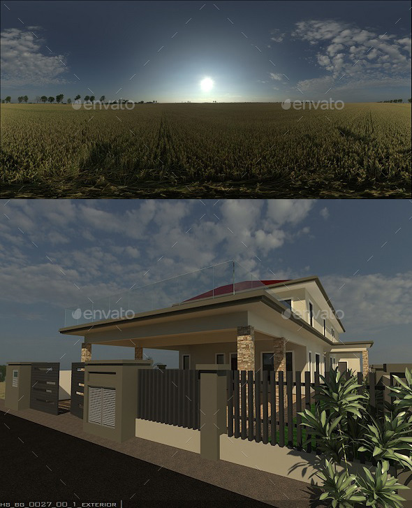 Exterior HDRi 7 - 3DOcean Item for Sale