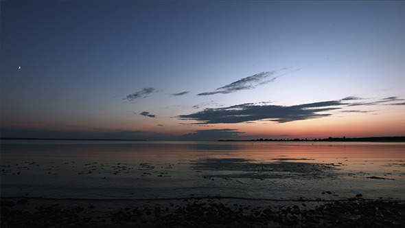 Lake and Sky after Sunset