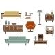 Flat Interior Furniture and Accessories