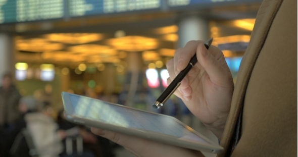 Using Pad To Send Message Before Departure