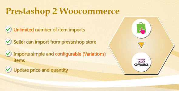 Prestashop to Woocommerce Migration Tool-Woocommerce Plugin (WooCommerce) Download