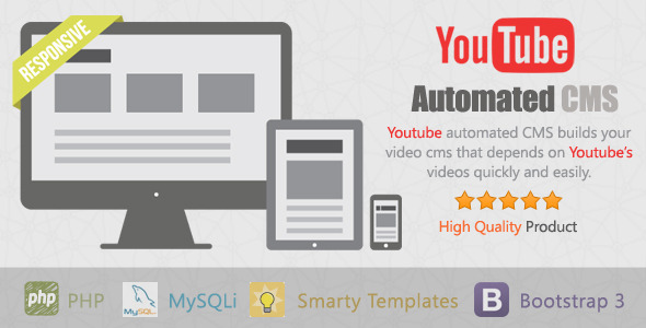 YouTube Automated CMS (Images and Media) Download