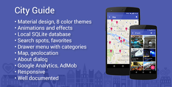 City Guide – Map App for Android (Full Applications) Download
