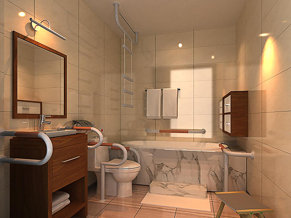3DOcean Bath Room 12029419