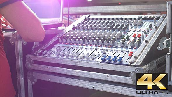 Backstage Audio Mixer