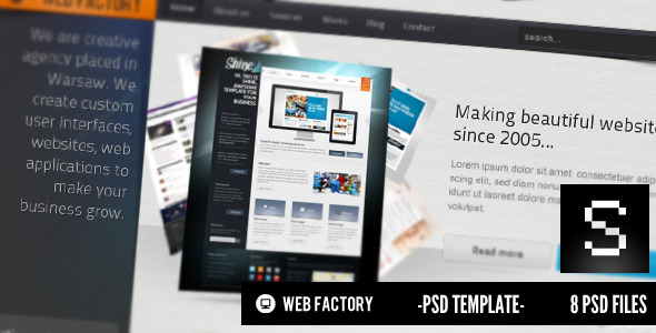 ThemeForest Web factory 146881