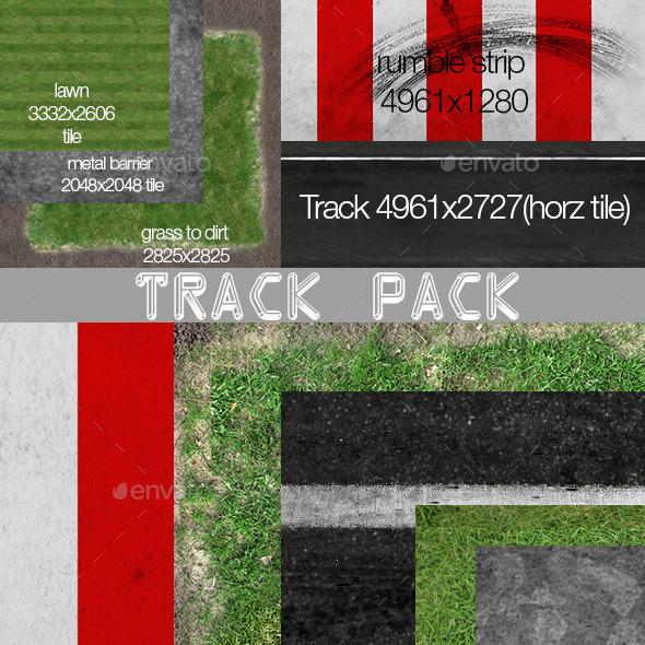 3DOcean Race Track textures 12035687