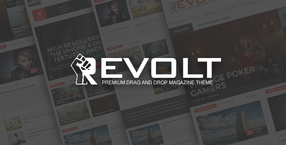 Revolt – Multipurpose WordPress Magazine Theme (News / Editorial) Download