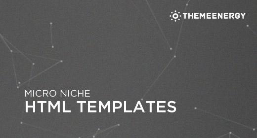 Micro Niche HTML Templates