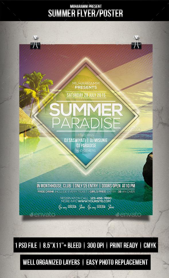 Summer Flyer / Poster