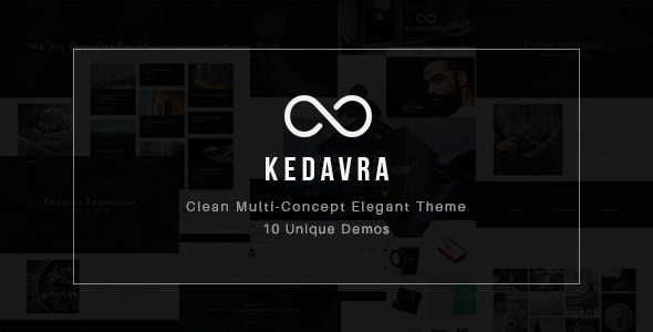 Kedavra – Clean Multi-Concept Elegant Theme (Miscellaneous) Download
