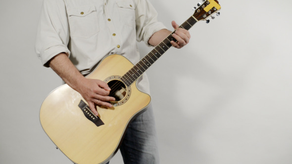 Acoustic Guitar in Action