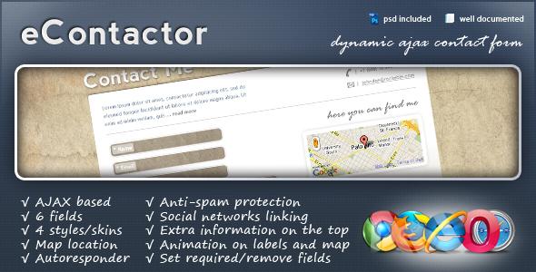 CodeCanyon eContactor 146743