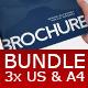 Bundle 3x Business Brochures