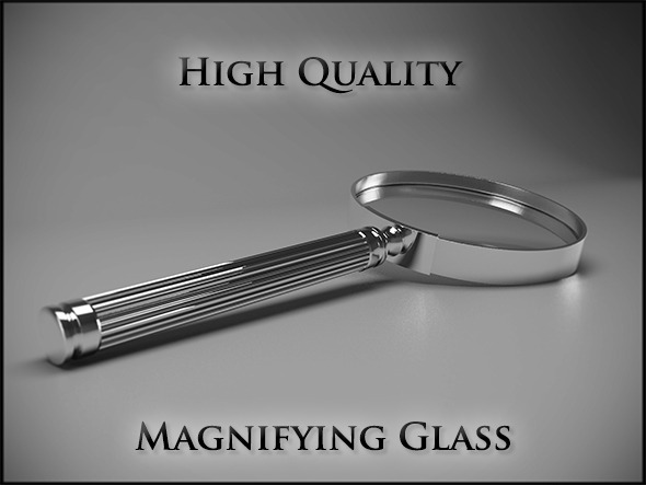 3DOcean Magnifying Glass 12043322