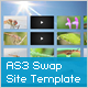AS3 XML Site Template with Swap Transition - ActiveDen Item for Sale