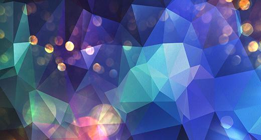 Bokeh Polygonal Backgrounds