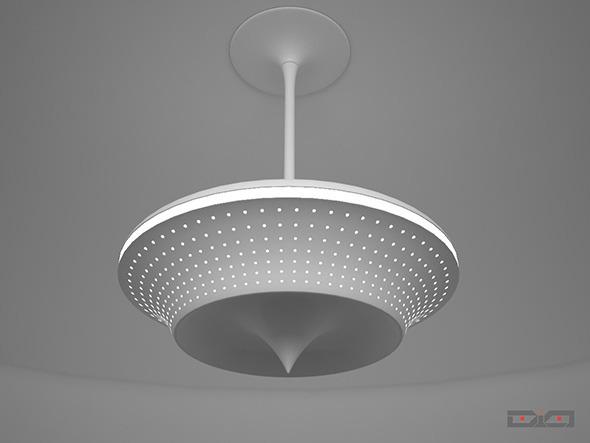 3DOcean Ceiling Lamp UFO Design 12044409
