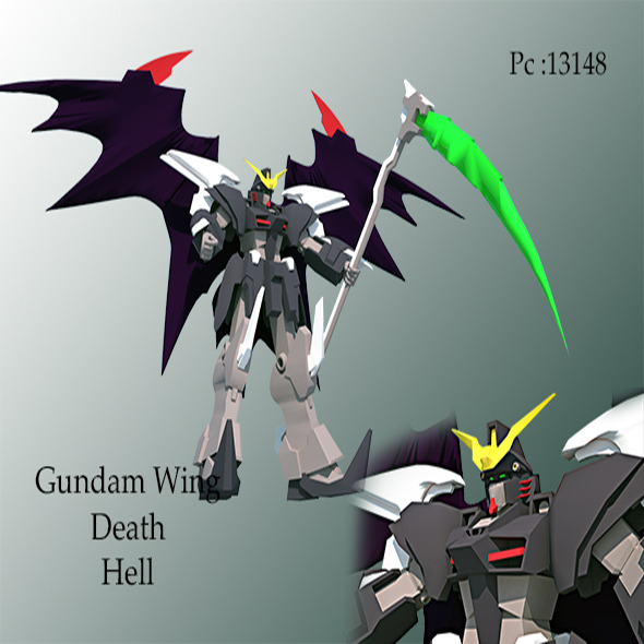 gundam wing death hell