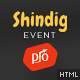 Shindig - A Rocking Single Event Site Template