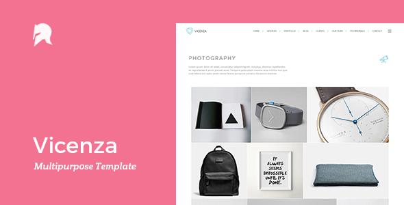 Vicenza – Multipurpose WordPress Template (Creative) Download