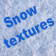 Snow and Snow Trails Textures - GraphicRiver Item for Sale