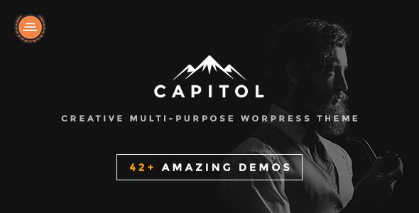 Capitol – Creative Multi-Purpose WordPress Theme (Creative) Download