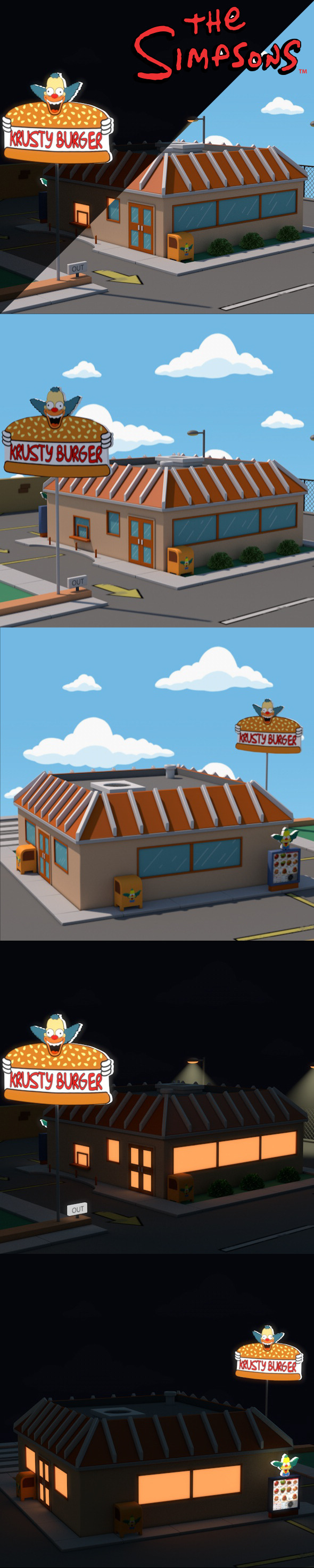 3DOcean Krusty Burger 12047215