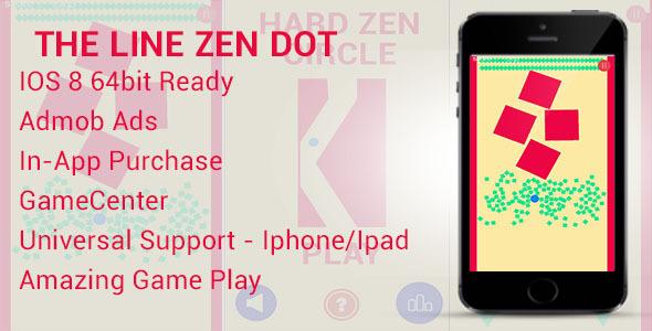 The Line Zen Dot – GameCenter Admob (Games) Download