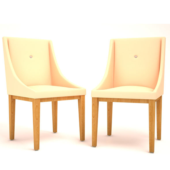 Chair pair - 3DOcean Item for Sale