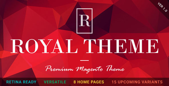 ROYAL – Fluid Responsive Magento Theme (Magento) Download