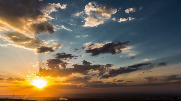 VideoHive Colorfull Sunset 12049957