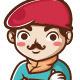 Artist Director Mascot