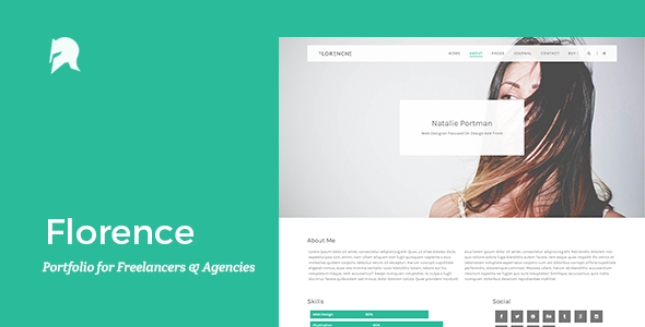 Florence – Portfolio for Freelancers & Agencies (Portfolio) Download