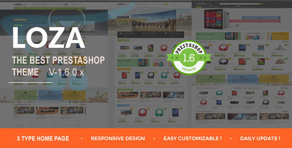 Image of Lozastore-Multipurpose Responsive PrestaShop Theme