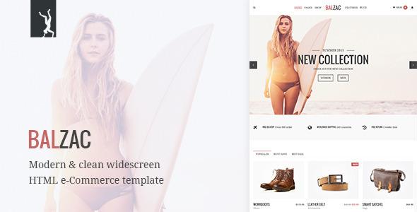Balzac - Modern eCommerce HTML5/CSS3/UIkit