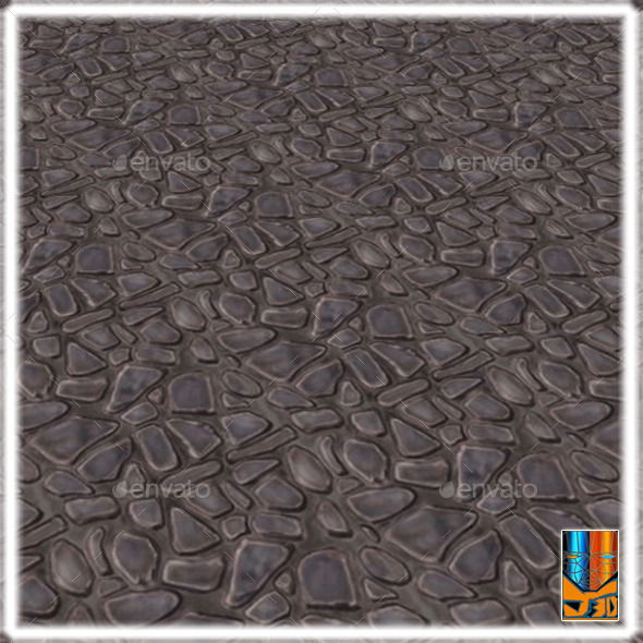 3DOcean Stone Pavement V1 12052229