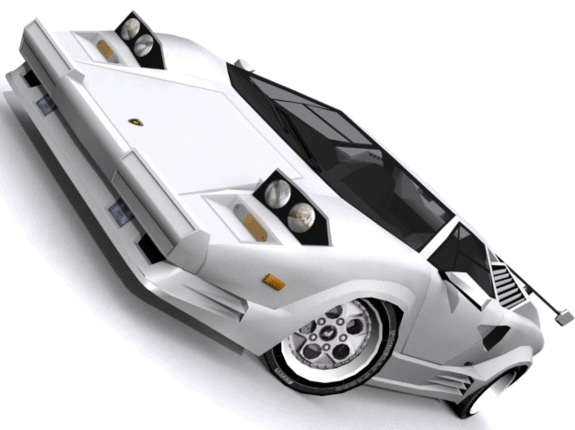 Lamborghini Countach SV - 3DOcean Item for Sale