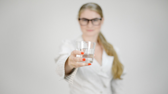Giving Glass of Water