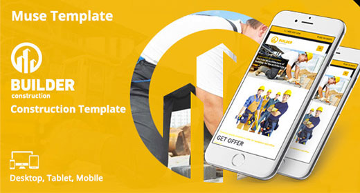 Muse Template - Themeforest