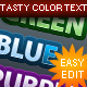 Tasty Text - GraphicRiver Item for Sale