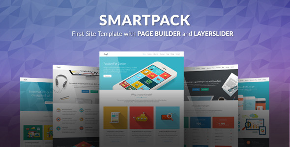 SmartPack – HTML Template With Page Builder (Corporate) Download