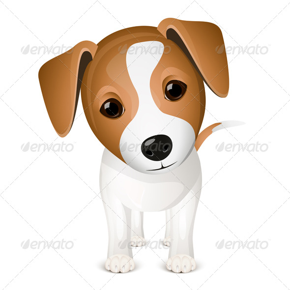 GraphicRiver Little jack russel 147196