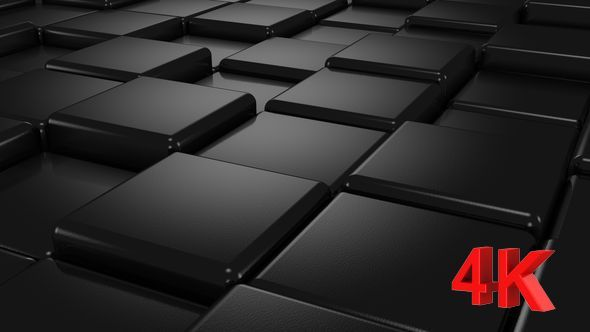 Black Cubes Animation