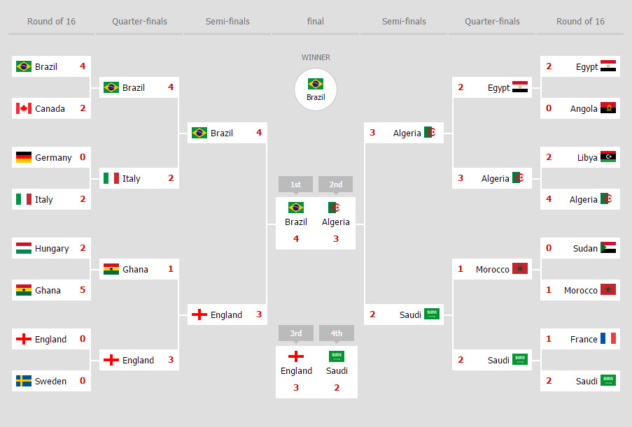 Bracketz Interactive HTML5 Tournament bracket by Domany – Tournament Bracket Template