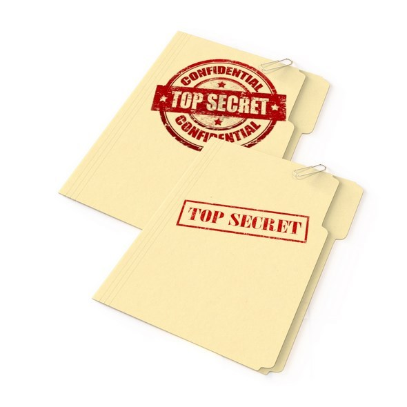 Top Secret Folder set of 2 - 3DOcean Item for Sale