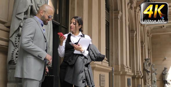 Business People Teamwork Concept Outdoor 2