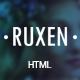 Ruxen - Responsive Blog & Magazine HTML Template - ThemeForest Item for Sale