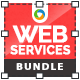 Web Services Banners Bundle - 3 Sets